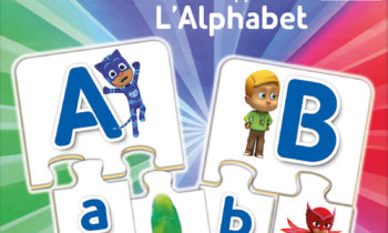 J'apprends l'alphabet avec Pyjamasques