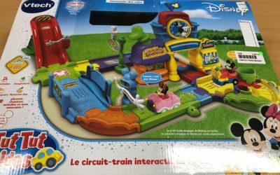 Le circuit train de Mickey