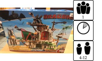 Dragons : Le campement de l'île de Beurk