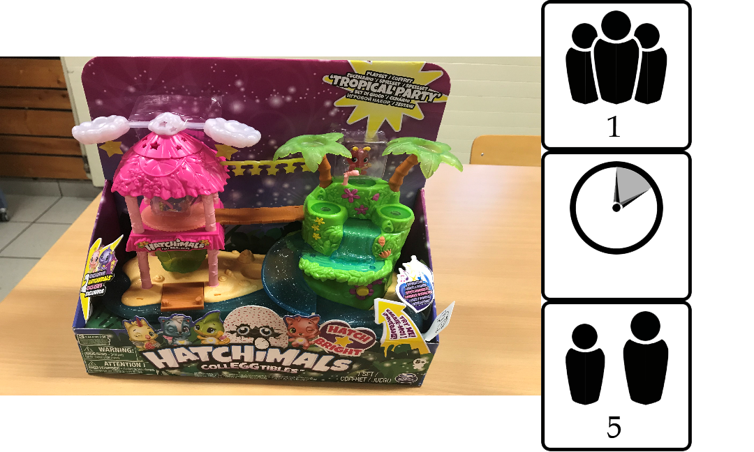 Tropical Party Hatchimals