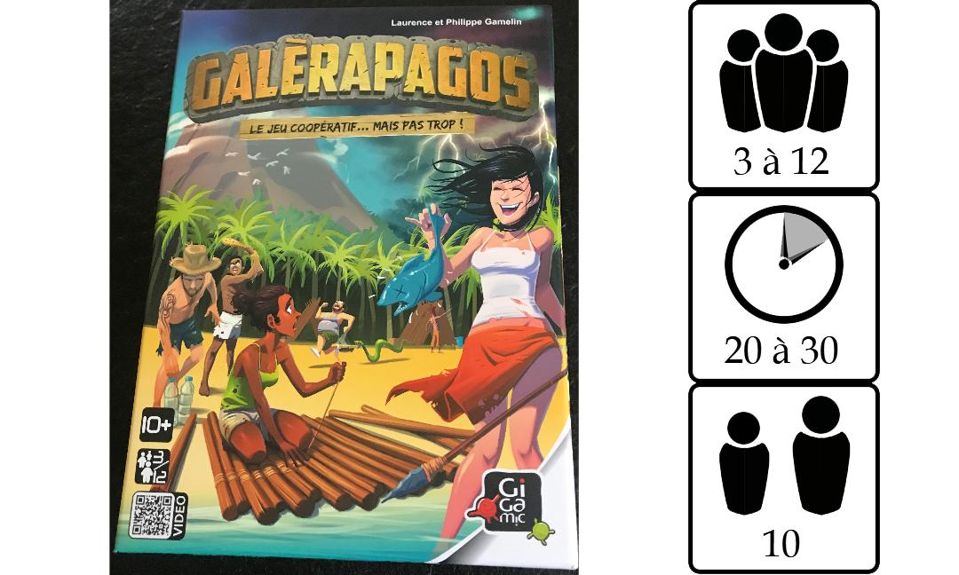Galèrapagos et son extension