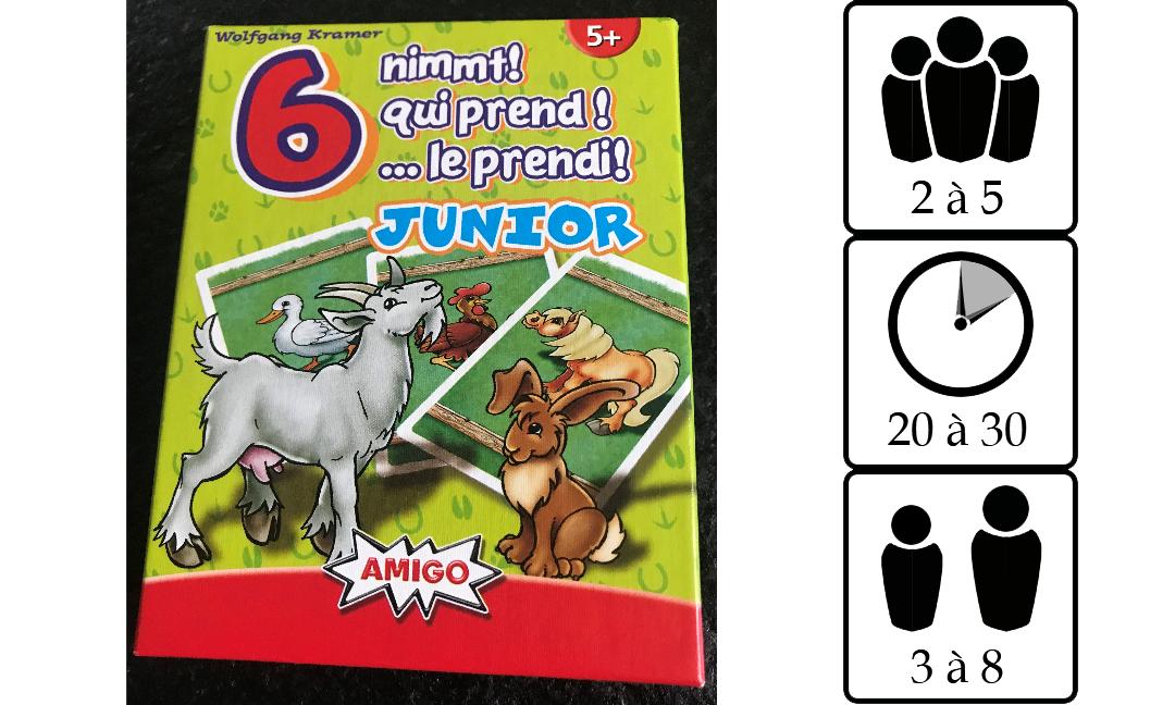 6 qui prend junior