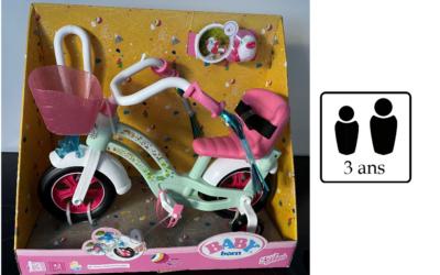 Vélo pour poupée