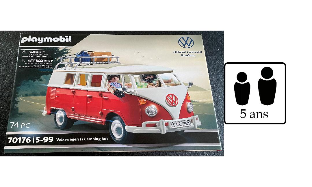 Playmobil Bus VW Camping